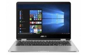 "Ноутбук ASUS VivoBook TP401MA-BZ261T 14""/Intel Celeron N4020 4ГБ/128ГБ SSD/AMD Radeon /Windows 10/90NB0IV1-M07140/серый"