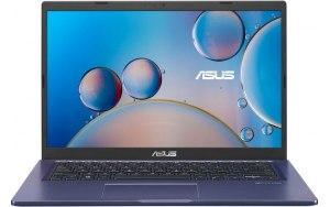 """Ноутбук ASUS VivoBook X415JA-EK220T 14""""/Intel Core i5 1035G1 1.0ГГц/8ГБ/256ГБ SSD/Intel UHD Graphics /Windows 10 Home/90NB0ST3-M07470/синий"""