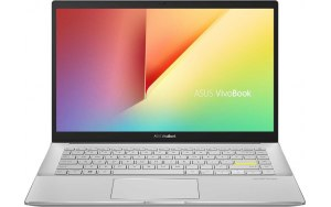 "Ноутбук ASUS VivoBook S433JQ-EB094 14""/IPS/Intel Core i5 1035G1 1.0ГГц/8ГБ/512ГБ SSD/NVIDIA GeForce MX350/noOS/90NB0RD3-M03500/белый"