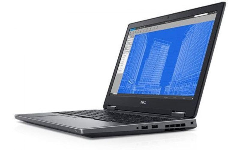 "Ноутбук DELL Precision 7730 17.3""/Intel Core i9 8950HK 2.9ГГц/32Гб/512Гб SSD/nVidia Quadro P4200 8192 Мб/Windows 10 Professional/7730-7006/черный"