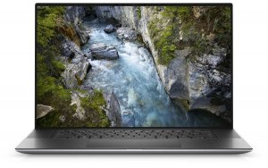 "Ноутбук DELL Precision 5750 17""/WVA/Intel Core i7 10850H 2.7ГГц/16ГБ/512ГБ SSD/NVIDIA Quadro T2000 - 4096 Мб/Windows 10 Professional/5750-6758/серый"