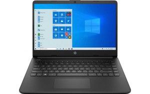 """Ноутбук HP 14s-dq1034ur 14""""/IPS/Intel Core i3 1005G1 1.2ГГц/8ГБ/256ГБ SSD/Intel UHD Graphics /Windows 10/22M82EA/черный"""