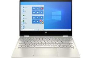 "Ноутбук-трансформер HP Pavilion x360 14-dw1009ur 14""/IPS/Intel Core i7 1165G7 2.8ГГц/16ГБ/512ГБ SSD/Intel Iris Xe graphics /Windows 10/2X2R5EA/золотистый"