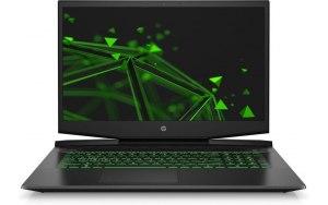 "Ноутбук HP Pavilion Gaming 17-cd1053ur 17.3""/IPS/Intel Core i7 10750H 2.6ГГц/16ГБ/1000ГБ/256ГБ SSD/NVIDIA GeForce GTX 1650 - 4096 Мб/Free DOS/22R66EA/черный/зеленый"