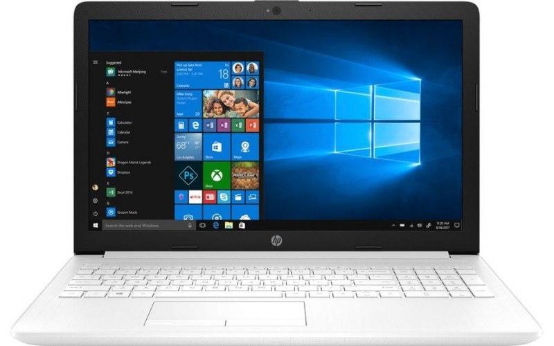 """Ноутбук HP 15-da0183ur 15.6""""/Intel Core i3 7020U 2.3ГГц/4Гб/500Гб/nVidia GeForce Mx110 2048 Мб/Free DOS/4MW05EA/белый"""