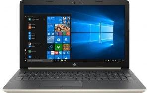 """Ноутбук HP 15-da0457ur 15.6""""/Intel Core i3 7020U 2.3ГГц/8Гб/256Гб SSD/nVidia GeForce Mx110 2048 Мб/Windows 10/7JY09EA/золотистый"""