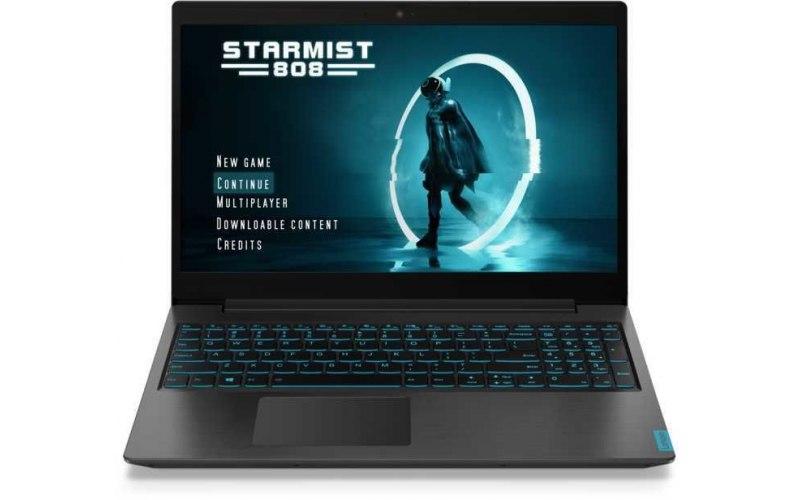 "Ноутбук LENOVO IdeaPad L340-15IRH 15.6""/IPS/Intel Core i7 9750H 2.6ГГц/8Гб/1000Гб/256Гб SSD/nVidia GeForce GTX 1650 4096 Мб/Free DOS/81LK009DRK/черный"