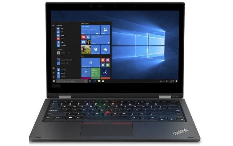 """Ноутбук LENOVO ThinkPad L390 Yoga 13.3""""/IPS/Intel Core i3 8145U 2.1ГГц/8Гб/256Гб SSD/Intel UHD Graphics 620/Windows 10 Professional/20NT000YRT/черный"""