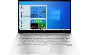 """Ноутбук HP Envy 17-ch0016ur 17.3""""/IPS/Intel Core i7 1165G7 2.8ГГц/16ГБ/512ГБ SSD/NVIDIA GeForce MX450 - 2048 Мб/Windows 10/4L5R8EA/серебристый"""