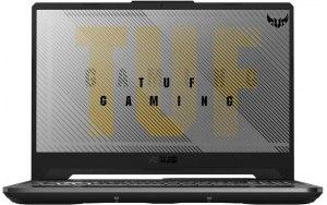 "Ноутбук ASUS TUF Gaming FX506IV-HN326 15.6""/IPS/AMD Ryzen 7 4800H 2.9ГГц/16ГБ/512ГБ SSD/NVIDIA GeForce RTX 2060 - 6144 Мб/noOS/90NR03L1-M05950/серый"