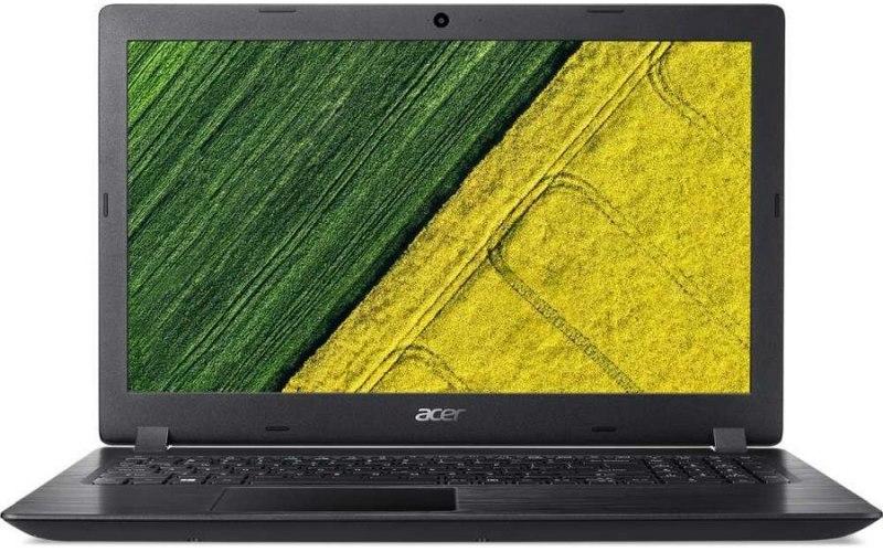 """Ноутбук ACER Aspire 3 A315-51-39WB 15.6""""/Intel Core i3 7020U 2.3ГГц/8Гб/256Гб SSD/Intel HD Graphics 620/Windows 10/NX.H9EER.027/черный"""