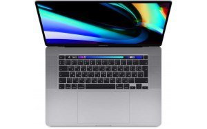 "Ноутбук APPLE MacBook Pro MVVK2RU A/16""/IPS/Intel Core i9 9880H 2.3ГГц/16Гб/1Тб SSD/Radeon Pro 5550M - 4096 Мб/macOS/MVVK2RU/A/серый"