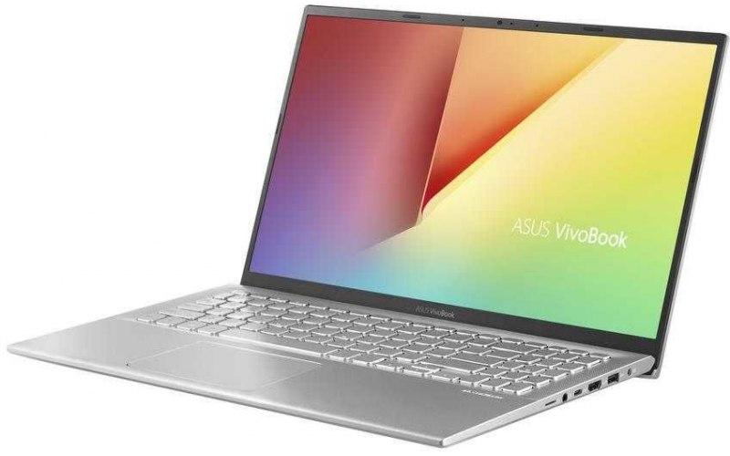 """Ноутбук ASUS VivoBook X512UB-BQ128T 15.6""""/Intel Core i3 7020U 2.3ГГц/6Гб/1000Гб/nVidia GeForce Mx110 2048 Мб/Windows 10/90NB0K92-M02020/серебристый"""