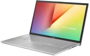 """Ноутбук ASUS VivoBook X712FA-BX025T 17.3""""/Intel Core i3 8145U 2.1ГГц/8Гб/1000Гб/128Гб SSD/Intel UHD Graphics 620/Windows 10/90NB0L61-M00270/серебристый"""