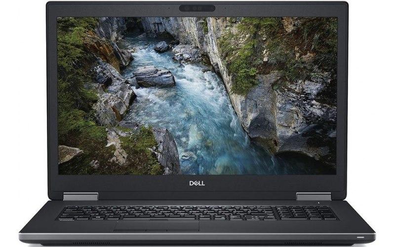 "Ноутбук DELL Precision 7730 17.3""/IPS/Intel Core i7 8850H 2.6ГГц/16Гб/256Гб SSD/nVidia Quadro P3200 6144 Мб/Windows 10 Professional/7730-6986/черный"