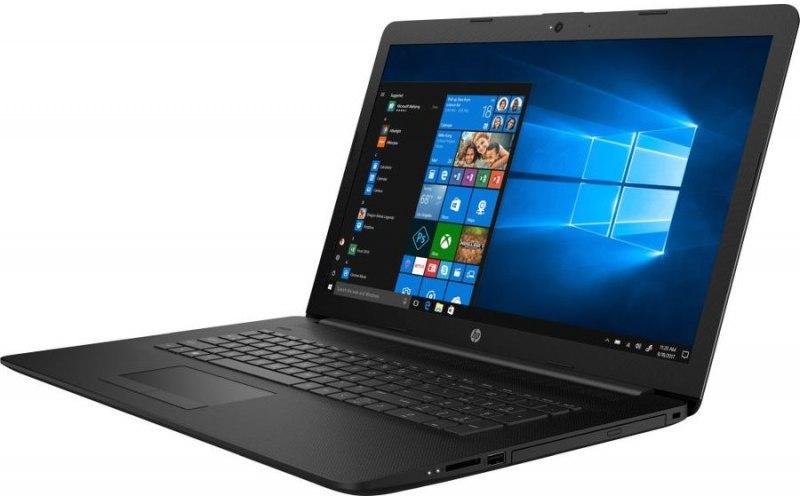 "Ноутбук HP 17-by1003ur 17.3""/Intel Core i5 8265U 1.6ГГц/4Гб/16Гб Intel Optane/1000Гб/AMD Radeon 520 2048 Мб/DVD-RW/Free DOS/5SY18EA/черный"