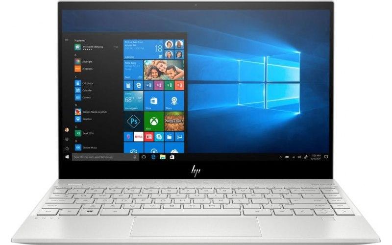 """Ноутбук HP Envy 13-aq0008ur 13.3""""/IPS/Intel Core i5 8265U 1.6ГГц/8Гб/32Гб Intel Optane/512Гб SSD/Intel UHD Graphics 620/Windows 10/7GW91EA/серебристый"""