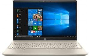 """Ноутбук HP Pavilion 15-cs1002ur 15.6""""/IPS/Intel Core i7 8565U 1.8ГГц/16Гб/1000Гб/256Гб SSD/nVidia GeForce Mx150 4096 Мб/Windows 10/5CT78EA/золотистый"""