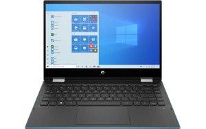 "Ноутбук-трансформер HP Pavilion x360 14-dw1004ur 14""/Intel Pentium Gold 7505 2.0ГГц/4ГБ/128ГБ SSD/Intel UHD Graphics /Windows 10/2X2Q8EA/зеленый"