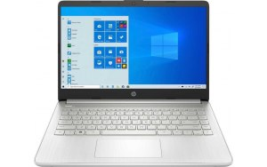 "Ноутбук HP 14s-fq1017ur 14""/IPS/AMD Ryzen 3 5300U 2.6ГГц/8ГБ/256ГБ SSD/AMD Radeon /Windows 10/3B3N3EA/серебристый"