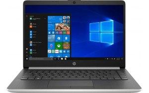 "Ноутбук HP 14-dk0004ur 14""/AMD Ryzen 3 3200U 2.6ГГц/8Гб/128Гб SSD/AMD Radeon Vega 3/Windows 10/6NC22EA/серебристый"