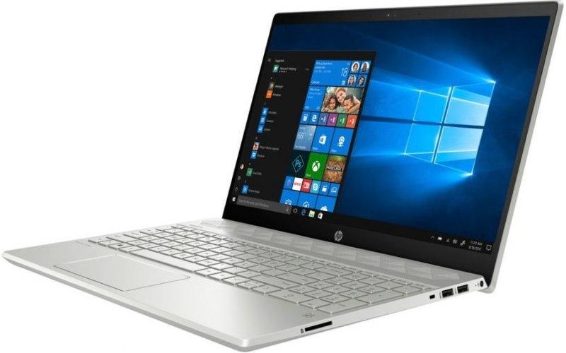 """Ноутбук HP 15-cs1028ur 15.6""""/IPS/Intel Core i5 8265U 1.6ГГц/4Гб/16Гб Intel Optane/1000Гб/nVidia GeForce Mx150 2048 Мб/Windows 10/5VZ69EA/серебристый"""