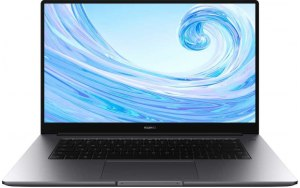 "Ноутбук HUAWEI MateBook D 15 Boh-WAQ9R 15.6""/IPS/AMD Ryzen 5 3500U 2.1ГГц/8Гб/256Гб SSD/AMD Radeon Vega 8/Windows 10/53010TSY/серый"