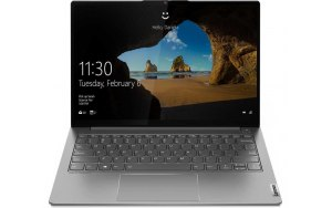 "Ноутбук LENOVO Thinkbook 13s G2 ITL 13.3""/IPS/Intel Core i7 1165G7 2.8ГГц/8ГБ/256ГБ SSD/Intel Iris Xe graphics /Windows 10 Professional/20V90008RU/серый"