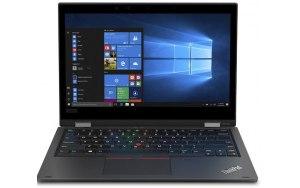 """Ноутбук LENOVO ThinkPad L390 Yoga 13.3""""/IPS/Intel Core i7 8565U 1.8ГГц/8Гб/256Гб SSD/Intel UHD Graphics 620/Windows 10 Professional/20NT0014RT/черный"""