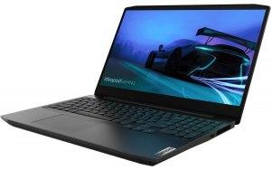 "Ноутбук LENOVO IP Gaming 3 15ARH05 15.6""/IPS/AMD Ryzen 5 4600H 3.0ГГц/8ГБ/256ГБ SSD/NVIDIA GeForce GTX 1650 - 4096 Мб/Free DOS/82EY009HRK/черный"