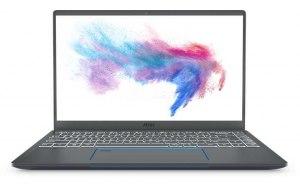 """Ноутбук MSI Prestige 14 A10SC-057RU 14""""/IPS/Intel Core i7 10710U 1.1ГГц/16ГБ/512ГБ SSD/nVidia GeForce GTX 1650 MAX Q - 4096 Мб/Windows 10/9S7-14C112-057/серый"""