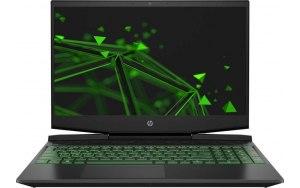 "Ноутбук HP Pavilion Gaming 15-dk1055ur 15.6""/IPS/Intel Core i5 10300H 8ГБ/1000ГБ SSD/NVIDIA GeForce GTX 1660 Ti - 6144 Мб/Free DOS 3.0/22N40EA/черный/зеленый"