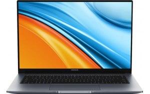 "Ультрабук Honor MagicBook 14 R5-5500U 14""/IPS/AMD Ryzen 5 5500U 2.1ГГц/8ГБ/512ГБ SSD/AMD Radeon /Windows 10 Home/53011WGG/серый"
