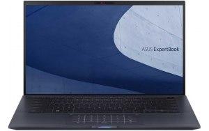 """Ноутбук ASUS Expertbook B9450FA-BM0556R 14""""/IPS/Intel Core i7 10510U 1.8ГГц/8Гб/512Гб SSD/Intel UHD Graphics /Windows 10 Professional/90NX02K1-M06680/черный"""