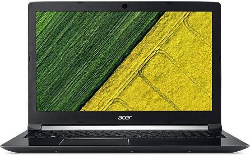 """Ноутбук ACER Aspire 7 A717-71G-56CA 17.3""""/Intel Core i5 7300HQ 2.5ГГц/8Гб/1000Гб/128Гб SSD/nVidia GeForce GTX 1060 - 6144 Мб/Windows 10 Home/NH.GPFER.008/черный"""