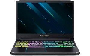"""Ноутбук ACER Helios 300 PH315-52-504E 15.6""""/Intel Core i5 9300H 2.4ГГц/16Гб/512Гб SSD/nVidia GeForce RTX 2060 - 6144 Мб/Linux/NH.Q54ER.01B/черный"""