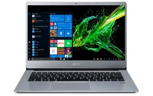 "Ультрабук ACER Swift 3 SF314-58G-57N7 14""/IPS/Intel Core i5 10210U 1.6ГГц/8Гб/256Гб SSD/nVidia GeForce MX250 - 2048 Мб/Windows 10/NX.HPKER.006/серебристый"