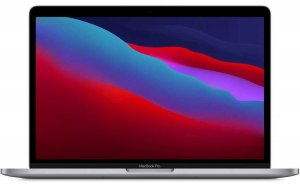 "Ноутбук APPLE MacBook Pro 13.3"" IPS/Apple M1 16ГБ/256ГБ SSD/Mac OS/Z11B0004T/серый космос"