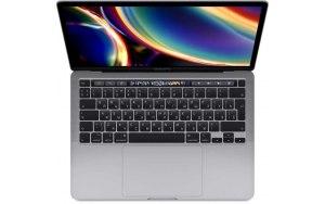 """Ноутбук APPLE MacBook Pro MWP52RU A/13.3""""/IPS/Intel Core i5 1038NG7 2.0ГГц/16Гб/1000Гб SSD/Intel Iris graphics /Mac OS Catalina/MWP52RU/A/темно-серый"""