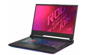 "Ноутбук ASUS ROG G512LV-HN248T 15.6""/IPS/Intel Core i7 10870H 16ГБ/512ГБ SSD/NVIDIA GeForce RTX 2060 - 6144 Мб/Windows 10/90NR04D3-M04570/черный/розовый"