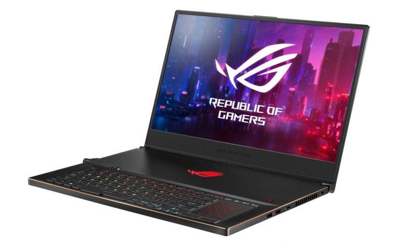 "Ноутбук ASUS ROG GX701GV-EV006T 17.3""/IPS/Intel Core i7 8750H 2.2ГГц/16Гб/512Гб SSD/nVidia GeForce RTX 2060 6144 Мб/Windows 10/90NR0201-M00180/черный"