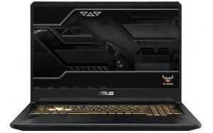 "Ноутбук ASUS TUF Gaming FX705GE-EW257T 17.3""/IPS/Intel Core i5 8300H 2.3ГГц/8Гб/512Гб SSD/nVidia GeForce GTX 1050 Ti 4096 Мб/Windows 10/90NR00Z1-M05340/темно-серый"