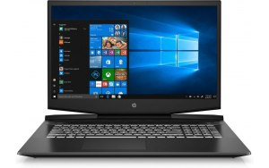 """Ноутбук HP Pavilion Gaming 17-cd0021ur 17.3""""/IPS/Intel Core i5 9300H 2.4ГГц/8Гб/512Гб SSD/nVidia GeForce GTX 1050 3072 Мб/Windows 10/7JU18EA/черный"""