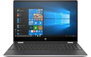 "Ноутбук-трансформер HP Pavilion x360 15-dq1005ur 15.6""/IPS/Intel Core i5 10210U 1.6ГГц/8ГБ/256ГБ SSD/Intel UHD Graphics /Windows 10/104B0EA/серебристый"