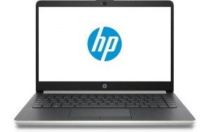 "Ноутбук HP 14-cf0085ur 14""/Intel Pentium 4417U 2.3ГГц/4Гб/128Гб SSD/Intel HD Graphics 610/Free DOS/6ND77EA/серебристый"