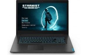 "Ноутбук LENOVO IdeaPad L340-17IRH 17.3""/IPS/Intel Core i7 9750H 2.6ГГц/8Гб/1000Гб/128Гб SSD/nVidia GeForce GTX 1050 3072 Мб/Free DOS/81LL0033RK/черный"