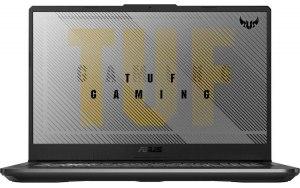 "Ноутбук ASUS TUF Gaming FX706LI-H7009 17.3""/Intel Core i5 10300H 2.5ГГц/8ГБ/512ГБ SSD/NVIDIA GeForce GTX 1650 Ti - 4096 Мб/noOS/90NR03S1-M00900/серый"