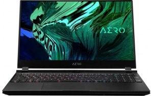 """Ноутбук GIGABYTE Aero 15 XC-8RU1130SH 15.6""""/IPS/Intel Core i7 10870H 2.2ГГц/16ГБ/512ГБ SSD/NVIDIA GeForce RTX 3070 для ноутбуков - 8192 Мб/Windows 10 Professional/XC-8RU1130SH/черный"""