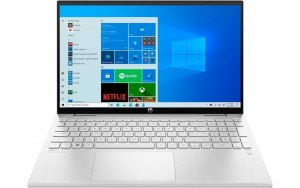"Ноутбук-трансформер HP Pavilion x360 15-er0010ur 15.6""/IPS/Intel Core i3 1125G4 2.0ГГц/8ГБ/256ГБ SSD/Intel UHD Graphics /Windows 10/4L5R4EA/серебристый"