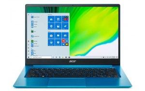 "Ультрабук ACER Swift 3 SF314-59-55T0 14""/IPS/Intel Core i5 1135G7 2.4ГГц/8ГБ/512ГБ SSD/Intel Iris Xe graphics /Windows 10/NX.A5QER.006/голубой"